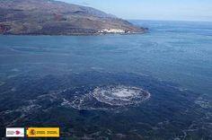 Erupción submarina Canarias 20