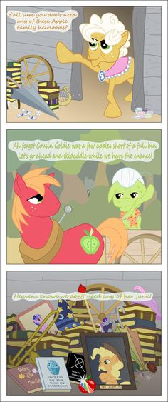 Apple Family Heirlooms by TotallyAnAlicornGuys on deviantART