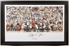 285931b3a21 MICHAEL JORDAN Signed Framed