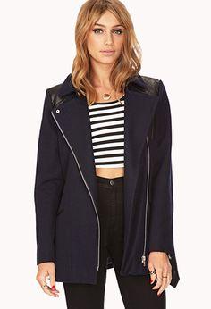 City Girl Trench Coat | FOREVER 21 - 2000050874