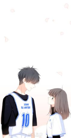 Cute Couple Art, Anime Love Couple, Manga Couple, Anime Couples Manga, Couple Cartoon, Cute Anime Couples, Cover Wattpad, Cute Couple Wallpaper, Dark Anime Guys