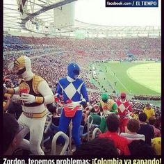 Colombia. 4-1 contra Japon.