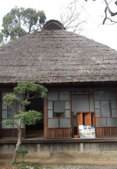 Japan traditional folk house.