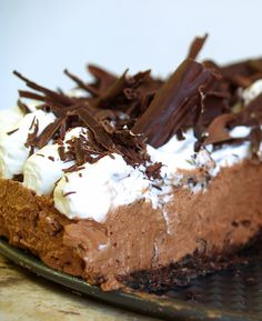 Hungry Hungry Highness: Chocolate Silk Pie