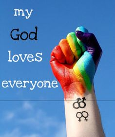 My God loves sinners,gays,etc. He even reaches his hand out and is there for those who dont believe in him. If my God isn't a true example of what love is then ,I honestly dont know what is. Pray For Orlando, Orlando Strong, Orlando Pride, Lgbt Love, Love Everyone, Cristiano, Gay Pride, Gods Love, Christianity