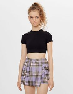 Pleated Mini Skirt, Skater Skirt, Mini Skirts, Outfits Mujer, Club Kids, Alternative Outfits, Girly Outfits, Skorts, Trousers Women