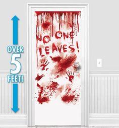 Halloween Door Decorations - Halloween Door Curtains - Party City