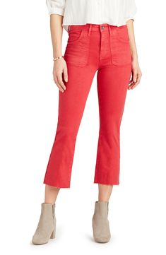 Pantsuits For Women, Cropped Jeans, High Waist Jeans, Fashion Looks, Nordstrom, Fashion Outfits, Clothes For Women, Cotton, Shopping