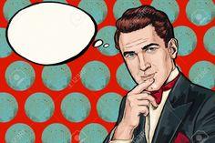 Image result for pop art men