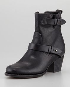 Rag Bone Harper Leather Motorcycle Boot Rag and Bone