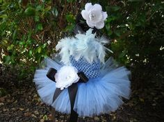 "Alice in Wonderland Inspired My First Tutu by threelittleprincess  Just ordered for my grandaughters ""Alice in Wonderland"" themed 1st birthday party!! :)"