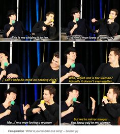 tvd - paul wesley and ian somerhalder This was at my Houston convention Paul Vampire Diaries, Vampire Diaries Quotes, Vampire Diaries The Originals, Damon And Stefan, Hello Brother, Vampire Love, Vampier Diaries, Book People, Delena