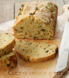 Plumcake+alle+zucchine+e+stracchino