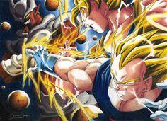 Goku and Vegeta VS Yanemba