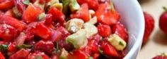 Sweet and Tangy Strawberry Avocado Salsa