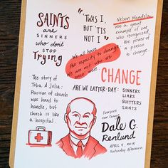 Dale G Renlund - Sketches from the talented Kent Carollo Studio that Will Help You Relive #LDSconf Conference