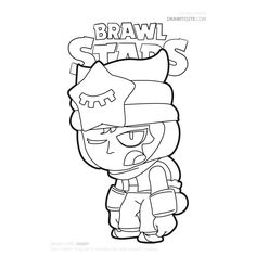 Sleeping Sandy from Brawl Stars fanart by Color for Fun. Star Coloring Pages, Mermaid Coloring Pages, Coloring Pages For Boys, Printable Coloring Pages, Blow Stars, Joker Art, Star Art, Drawing For Kids, Easy Drawings