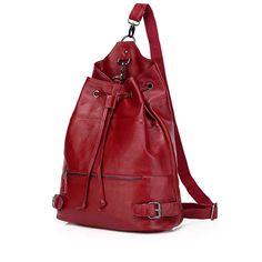 Comprar bolso mochila de piel mochilas escolares para estudiantes de colegios