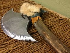 Barbarian Axe by SovereignDesign on Etsy    medieval weapon warrior costume display