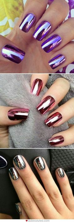 Doobys nails mirror chrome blue silver long coffin 10 glue on the best diy projects diy ideas and tutorials sewing paper craft diy diy tips nails art 2017 2018 need some nail art inspiration browse these solutioingenieria Images