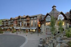 Tahoe Mountain Lodging in The Village at Northstar™ offers luxury #slopeside condominiums
