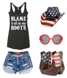 """Blame It All On My Roots - Concert Pack"" by Tailgate N' Tees"
