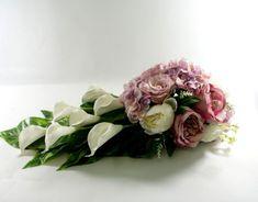 Kompozycja nagrobna,stroik na grób Ikebana, Makeup Tips For Beginners, Funeral Flowers, Fresh Flowers, Floral Arrangements, Diy And Crafts, Floral Wreath, Wreaths, Rose