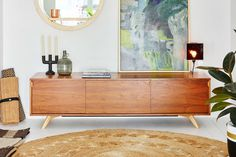 Buy Credenza Perth : The iconic sideboard natural credenza danish and