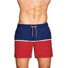 Cut & Sewn Swim Shorts
