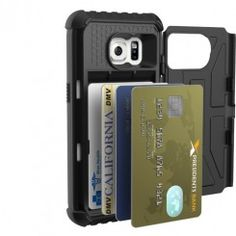 Get military-grade protection while still being able to store your cards with the UAG (Urban Armor Gear) Card case for Samsung Galaxy S7. Coming Soon. Pre-Order Now and Save Money!!!