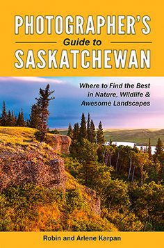 Our book, Photographer's Guide to Saskatchewan, by Robin and Arlene Karpan will show not only takes you to photogenic hot spots in Saskatchewan, but also reveals what you need to know to capture amazing images. Saskatchewan Canada, Waterfall Photo, Create Picture, Visit Canada, Beautiful Waterfalls, Vacation Places, Vacations, Canada Travel, Canada Tourism