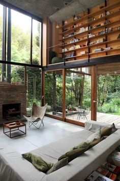 Dream Home Design, Modern House Design, Modern Interior Design, My Dream Home, Interior Architecture, Design Loft, Tropical Architecture, Modern Architecture House, Scandinavian Interior