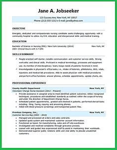 nursing student resume must contains relevant skills experience and also educational background to make sure