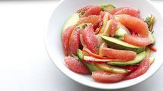 Tipsy grapefruit salad