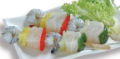 Pangasius, Shrimp And Vegetable Skewer. Seajoco - Seafood Joint Stock Company No. 1. [e]: info@seajoco.vn. [w]: http://seajoco.vn.