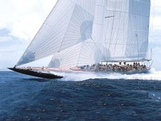 J Class Endeavour sailing with North Sails whao ss