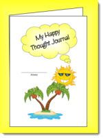 Happy Thoughts Journal freebie - works like a gratitude journal for kids