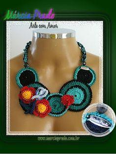 Márcia Prado ♥ Arte com Amor ♥: Colar Mandalas