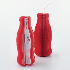 Coke Bottle Calendar - Graphis