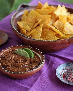 Spicy Black Bean Chipotle Dip