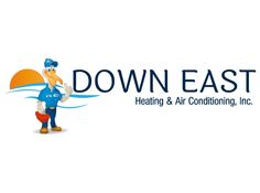 Down East Heating & Air Conditioning Brand Mascot Heating And Air Conditioning, Conditioner