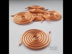 (4) How to Make Copper Spirals. Step-by-step video! - YouTube