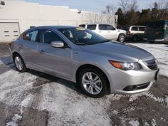 2013 silver Acura ILX 1.5 Hybrid - $24,000