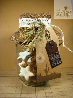 Christmas cookie packaging