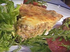 Caramelized Onion, Mushroom and Bacon Quiche in a Pat-In-Pan Crust Recipe