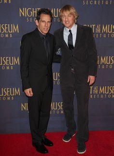 Week In Celebrity Photos: Dec. 8-12. Ben Stiller and Owen Wilson so funny!
