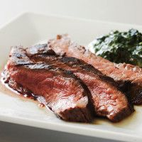 Rosemary Flank Steak with Balsamic Glazed Onions - All Recipes at Sur La Table