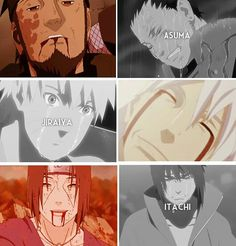 Almost like the top 3 saddest deaths in Naruto
