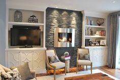 Alcove The Fireplace And Fireplaces On Pinterest