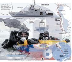 La Antártida: detalles de la tercera expedición colombiana Map, Location Map, Peta, Maps